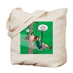 Canopy Tour Zip Line Tote Bag