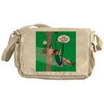Canopy Tour Zip Line Messenger Bag