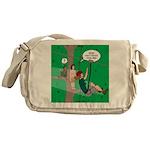 Canopy Tour Zip Line Messenger Bag
