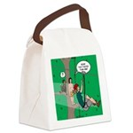 Canopy Tour Zip Line Canvas Lunch Bag