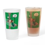 Canopy Tour Zip Line Drinking Glass