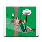 Canopy Tour Zip Line Mousepad