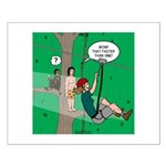 Canopy Tour Zip Line Small Poster