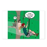 Canopy Tour Zip Line Postcards (Package of 8)