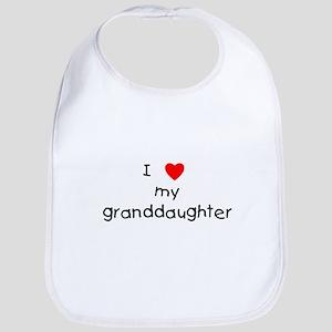 I love my granddaughter Bib