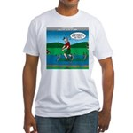 Cot Paddleboarding Fitted T-Shirt