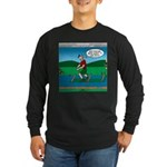 Cot Paddleboarding Long Sleeve Dark T-Shirt