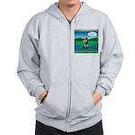 Cot Paddleboarding Zip Hoodie