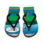Cot Paddleboarding Flip Flops