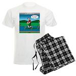 Cot Paddleboarding Men's Light Pajamas