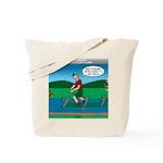 Cot Paddleboarding Tote Bag