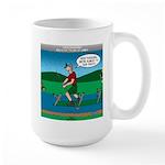 Cot Paddleboarding Large Mug
