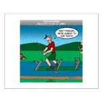 Cot Paddleboarding Small Poster