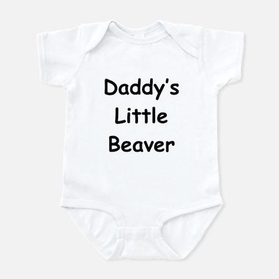 Daddy's Little Beaver Infant Bodysuit