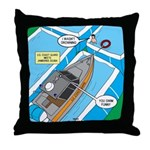 Water Rescue Throw Pillow