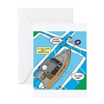 Water Rescue Greeting Card