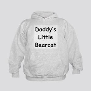 Daddy's Little Bearcat Kids Hoodie