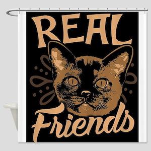 Burma Cat Shower Curtain