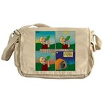 Hydrate and Dehydrate Messenger Bag