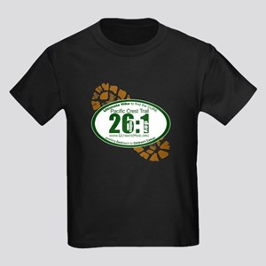 26:1 - Pacific Crest Trail Kids Dark T-Shirt