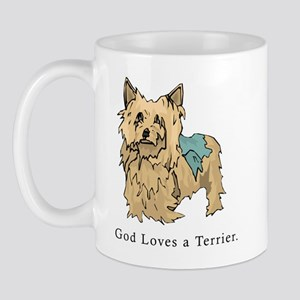 God Loves a Terrier Mug