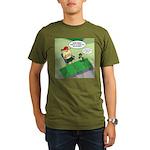 Patch Trading Organic Men's T-Shirt (dark)