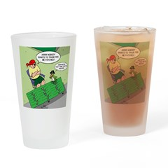 Patch Trading Drinking Glass