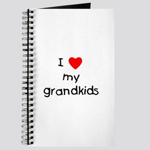 I love my grandkids Journal
