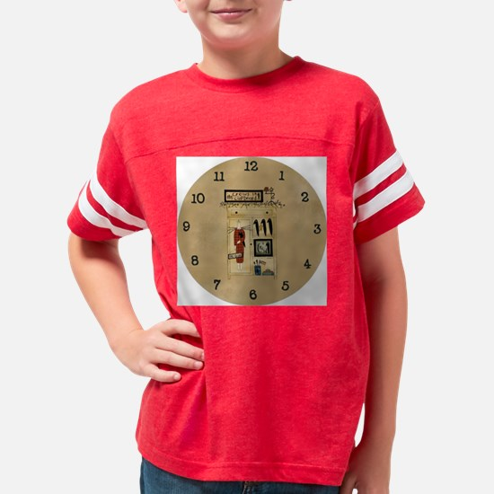 crowsinthecupboardclock Youth Football Shirt