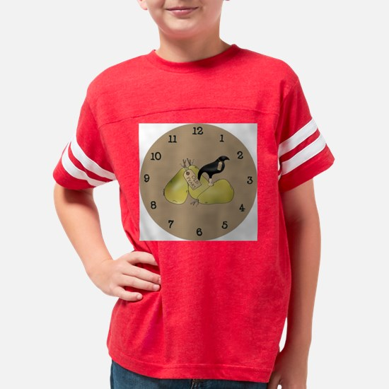 pearclock Youth Football Shirt