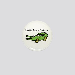 Gotta Love Gators Mini Button