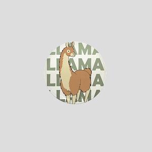 Llama, Llama, Llama! Mini Button