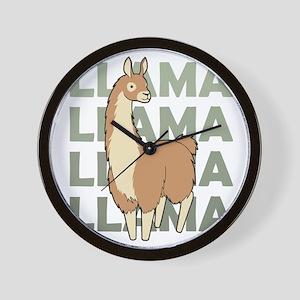 Llama, Llama, Llama! Wall Clock