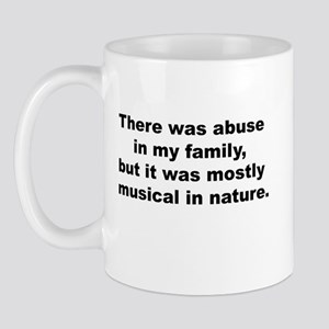 Musical Abuse Mug
