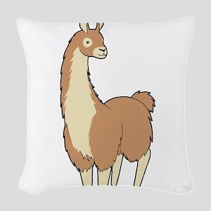 Llama! Woven Throw Pillow