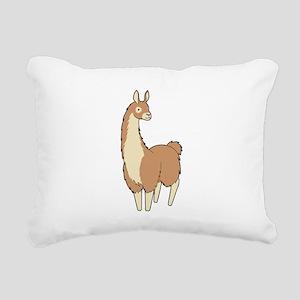 Llama! Rectangular Canvas Pillow