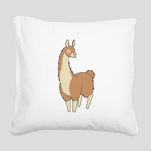 Llama! Square Canvas Pillow