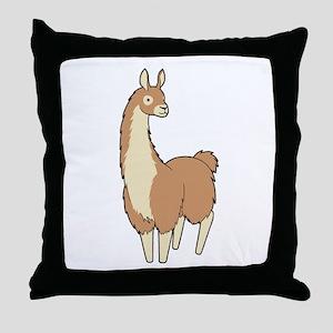 Llama! Throw Pillow