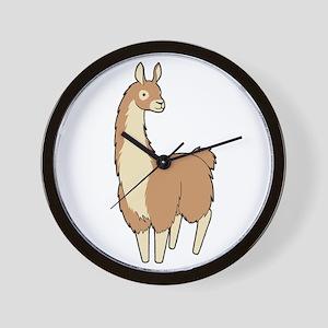 Llama! Wall Clock