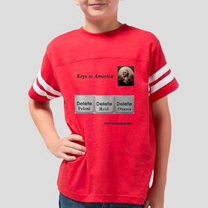 Keys to America Youth Football Shirt