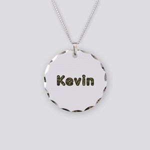 Kevin Army Necklace Circle Charm