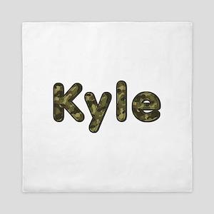 Kyle Army Queen Duvet