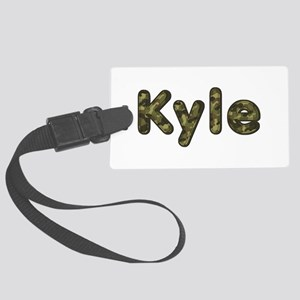 Kyle Army Large Luggage Tag