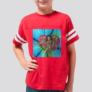 elf sleave t shirt front Youth Football Shirt