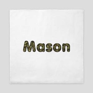 Mason Army Queen Duvet