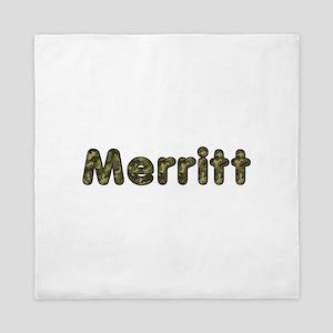 Merritt Army Queen Duvet