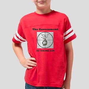 taking aim Youth Football Shirt