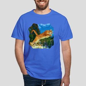 Leaping Cougar Dark T-Shirt
