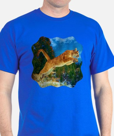 Leaping Cougar T-Shirt