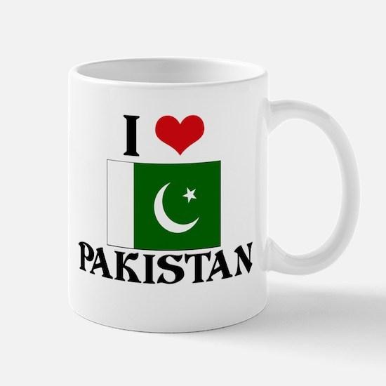 I HEART PAKISTAN FLAG Mug